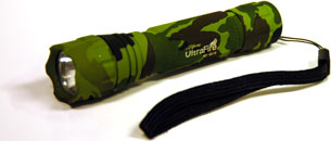 Tactical Camo LED Flashlight